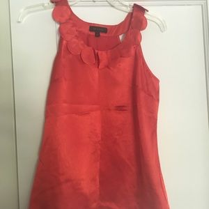 THE LIMITED orange circle applique top-S-NWT!